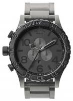 Nixon 51-30 Chrono Watch - Matte Black / Matte Gunmetal