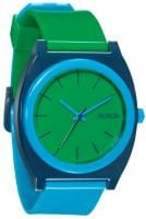 Nixon Time Teller P Watch - Green / Blue / Navy