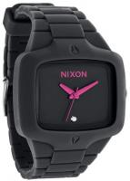 Nixon Rubber Player Watch - All Black / Pink