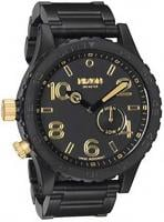 Nixon 51-30 Tide Watch - Matte Black / Gold