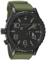 Nixon 51-30 PU Tide Watch - Matte Black / Surplus