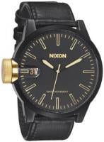 Nixon Chronicle Watch - Matte Black / Gold