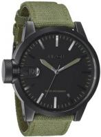 Nixon Chronicle Watch - Matte Black / Surplus