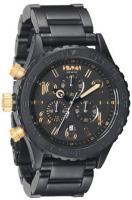 Nixon 42-20 Chrono Watch - Matte Black / Gold