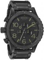 Nixon 51-30 Chrono Watch - Matte Black / Surplus