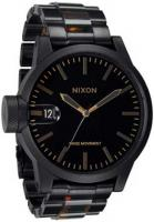 Nixon Chronicle SS Watch - Matte Black / Tortoise