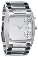 Nixon Banks Watch - Silver