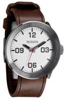 Nixon Corporal Watch - Silver / Brown