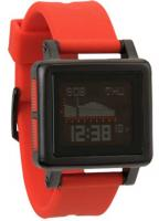 Nixon Housing Tide Watch - All Black / Red