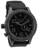 Nixon 51-30 PU Tide Watch - All Gunmetal / Black