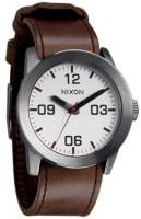 Nixon Private Watch - Silver / Brown
