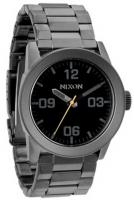 Nixon Private SS Watch - All Gunmetal / Black