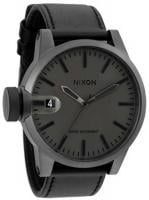 Nixon Chronicle Watch - Matte Black / Matte Gunmetal