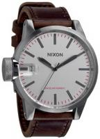 Nixon Chronicle Watch - Silver / Brown