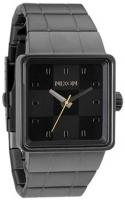 Nixon Quatro Watch - All Gunmetal / Black