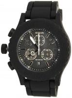 Nixon Rubber 42-20 Chrono Watch - Black