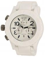 Nixon Rubber 42-20 Chrono Watch - White