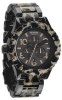 Nixon 42-20 Chrono Watch - All Black / Leopard