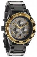 Nixon 42-20 Chrono Watch - Gun N Gold