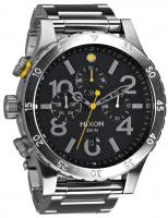 Nixon 48-20 Chrono Watch - Black