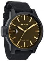 Nixon Chronicle Watch - Matte Black / Orange Tint