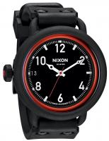 Nixon October Watch - All Black / Red