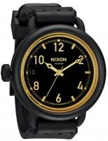 Nixon October Watch - Matte Black / Orange Tint