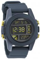 Nixon Unit Watch - Steel Blue / Yellow Ano
