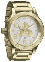 Nixon 51-30 Chrono Watch - Champagne Gold / Silver