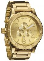 Nixon 51-30 Chrono Watch - All Gold