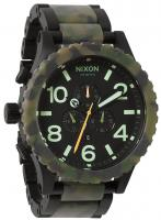 Nixon 51-30 Chrono Watch - Matte Black / Camo