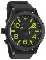 Nixon 51-30 PU Tide Watch - All Black / Lum