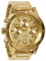 Nixon 48-20 Chrono Watch - All Gold