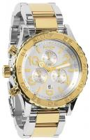Nixon 42-20 Chrono Watch - Silver / Champagne / Gold