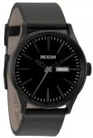 Nixon Sentry Leather Watch - All Black