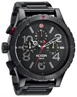 Nixon 48-20 Chrono Watch - All Black / Multi