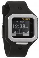 Nixon Supertide Tide Watch - Black / Silver