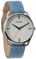 Nixon Mellor Watch - Washed Denim / Cream