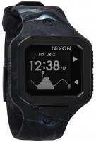 Nixon Supertide Tide Watch - Marbled Black Smoke