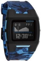 Nixon Lodown II Tide Watch - Black / Blue Camo
