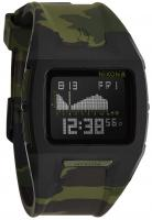 Nixon Lodown II Tide Watch - Black / Green Camo