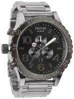 Nixon 51-30 Chrono Watch - Silver / Gunmetal