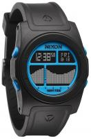 Nixon Rhythm Tide Watch - Black / Sky Blue