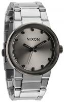 Nixon Cannon Watch - Silver / Gunmetal