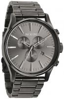 Nixon Sentry Chrono Watch - All Gunmetal