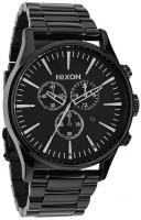 Nixon Sentry Chrono Watch - All Black