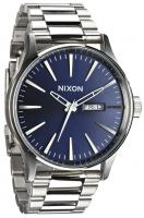 Nixon Sentry SS Watch - Gunmetal / Blue Crystal