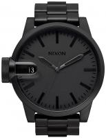 Nixon Chronicle SS Watch - Matte Black / Dark Tortoise