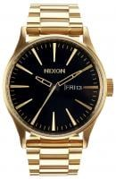 Nixon Sentry SS Watch - All Gold / Black