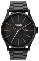 Nixon Sentry SS Watch - Matte Black / Industrial Green